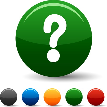 question icon: Question icon set. Vector illustration.