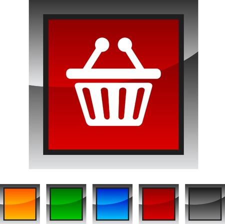 Shopping icon set. Vector illustration. Stock Vector - 5843175