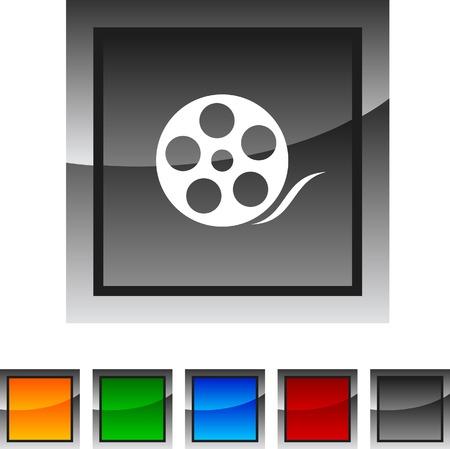 Media icon set. Vector illustration.  Stock Vector - 5843172
