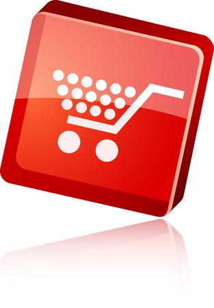 Shopping  beautiful icon. Vector illustration. Stock Vector - 5997188