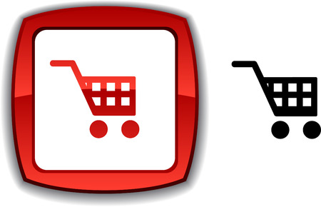 Buy  realistic button. Vector illustration. Stock Vector - 6155086