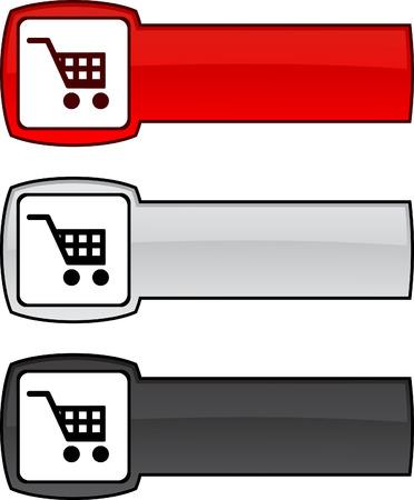 Buy  web button. Vector illustration. Vector