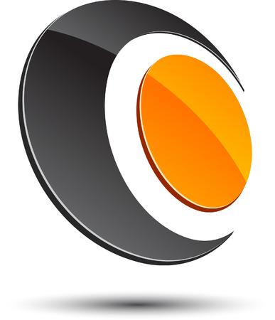 logos negocios: Elemento de dise�o abstracto. Ilustraci�n vectorial.  Vectores