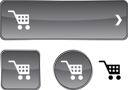 vector buttons: Buy  web buttons. Vector illustration.