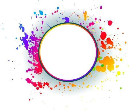 Abstract grunge spectrum backgrounds Stock Vector - 7322111