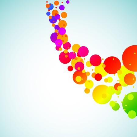 Fondo de espectro moderno abstracto