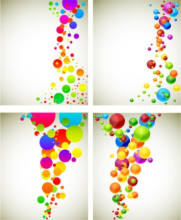 colourful ball: Abstract modern spectrum backgrounds.