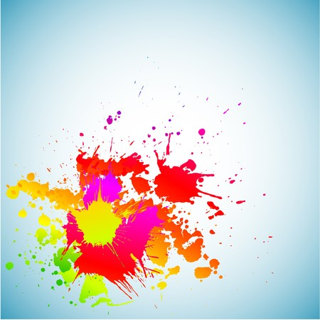 Abstract grunge spectrum background.  Stock Vector - 7765368