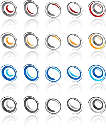 rotate: illustration of rotate symbols.
