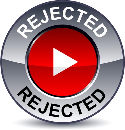 metallic button:   Rejected round metallic button  Illustration