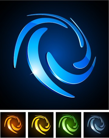 illustration of shiny symbols. Stock Vector - 7933866