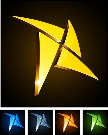 aureole:   illustration of star shiny symbols.