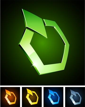 illustration of diamond shiny symbols.  Stock Vector - 7959046