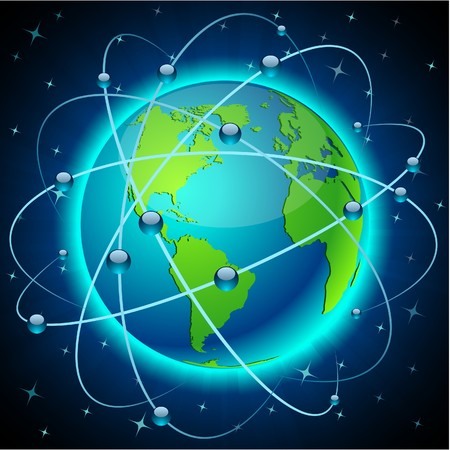 trajectoire: N�on d�taill�s haute terre de communication.