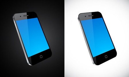 Vector Concept communicator. No transparency effects.  Stock Photo - 9151893