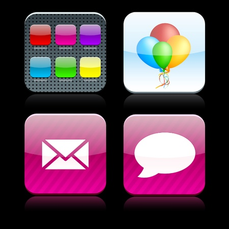 violet icon: website icons
