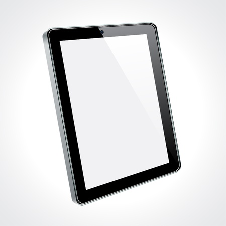 Vector Concept tablet. No transparency effects. Stock Vector - 9579697