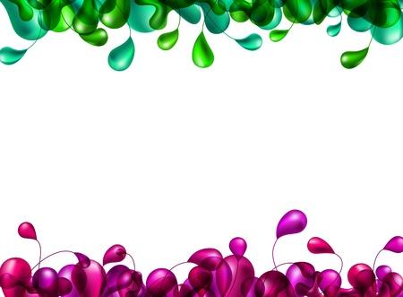 nature multicolor backdrop. Stock Vector - 10379828
