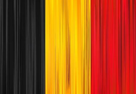 Vector illustration of national Belgian flag.  Stock Vector - 10562335