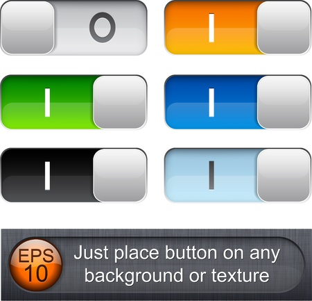 Eps10 vector. Different blending layer modes were used. You can easy place relay on any background or texture.  Vector
