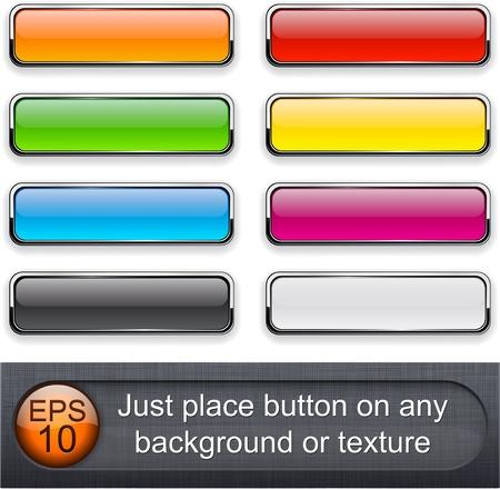 tu puedes: Diferentes modos de fusi�n de capas fueron utilizados. Usted puede f�cil colocar el bot�n en cualquier fondo o la textura.