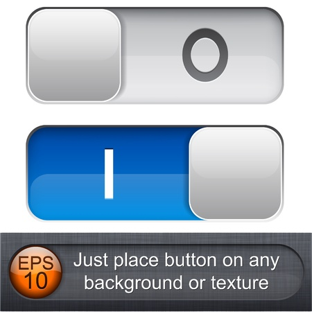 navigation buttons: Different blending layer modes were used. You can easy place relay on any background or texture.