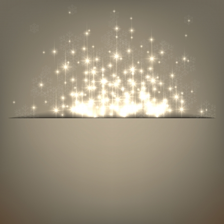 Glowing shiny christmas background  Vector