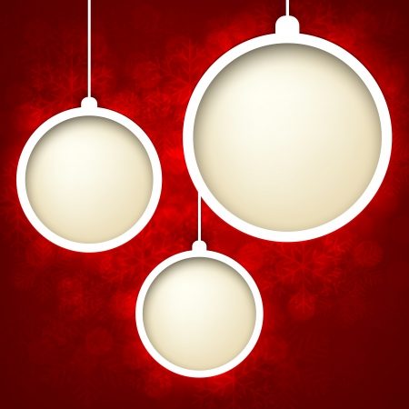 Abstract shiny christmas background Stock Vector - 16174739