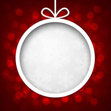 Abstract shiny christmas background   Vector