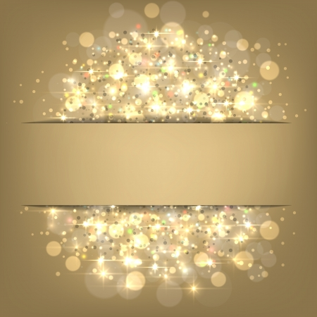 Glowing shiny christmas background  Vector eps10 Stock Vector - 16279391
