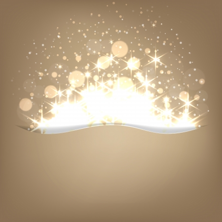 Glowing shiny christmas background  Vector eps10 Stock Vector - 16279384