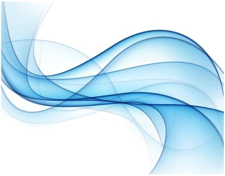 fumo blu: Illustrazione vettoriale di astratto fumo blu Eps10 Vettoriali