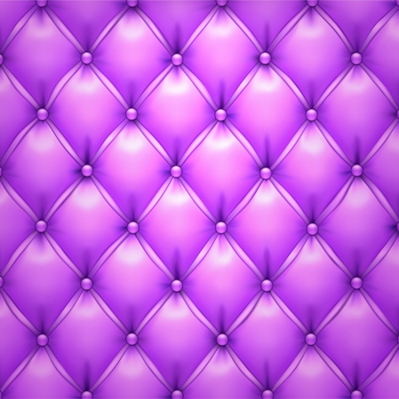 upholstered: illustration of purple realistic upholstery leather pattern background