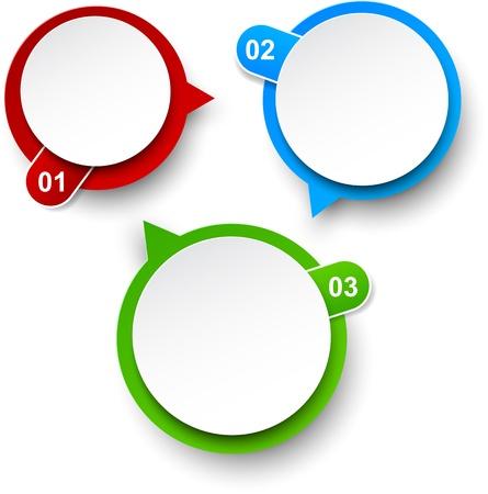 illustration of circulation infographics template design. Stock Vector - 18551941