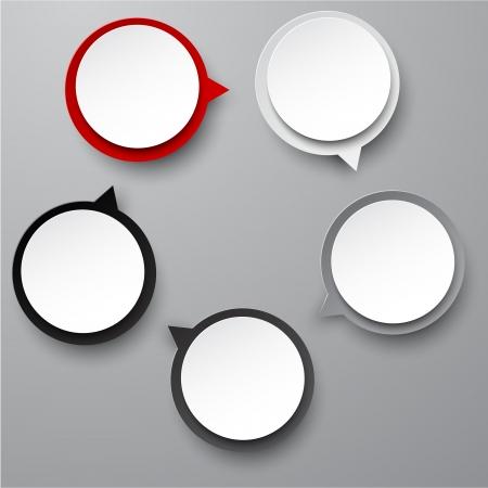 illustration of circulation infographics template design.   Vector