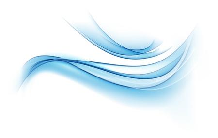 fumo blu: Illustrazione di astratto fumo blu di sfondo.