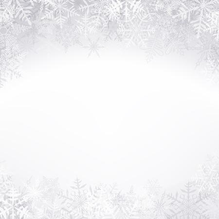 schneeflocke: Winter-Muster mit Schneeflocken crystallic. Weihnachten Hintergrund. Vector.