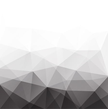 삼각형으로 구성 추상 형상 다각형 배경입니다. 벡터 일러스트 레이 션.