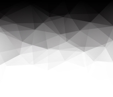 Abstract geometric polygonal background composed of triangles. Vector illustration.  Vector