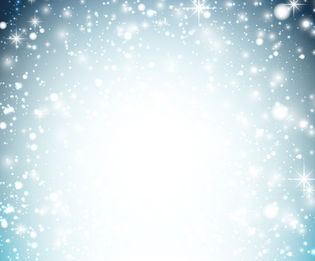 snowflake border: Winter pattern with crystallic snowflakes. Christmas background. Vector.