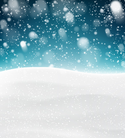 snow track: Winter background with snow. Christmas snow surface. Eps10 vector illustration.