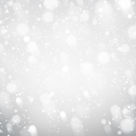 Winter silver background.
