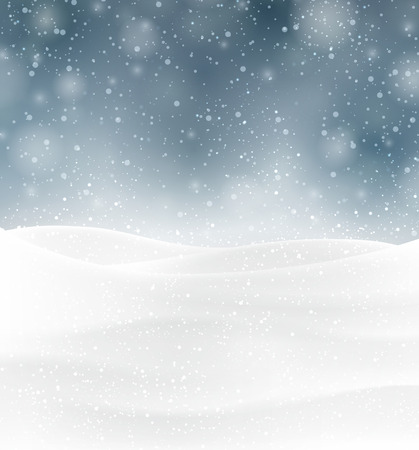 christmas snow: Winter background with snow. Christmas snow surface. Eps10 vector illustration.
