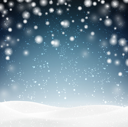 snow white: Winter background with snow