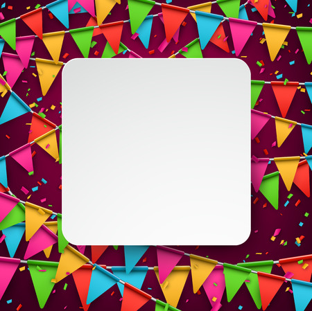 celebration: Colorful celebration background with confetti