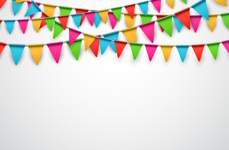 triangular banner: Celebrate background.