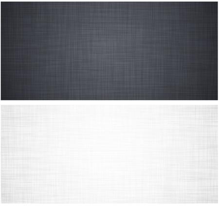 linen texture: Realista blanco y gris patr�n textura de lino.