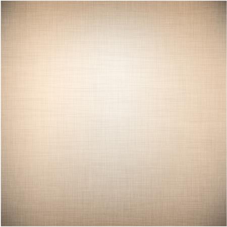 linen texture: Patr�n de la textura de lino marr�n realista. Vectores