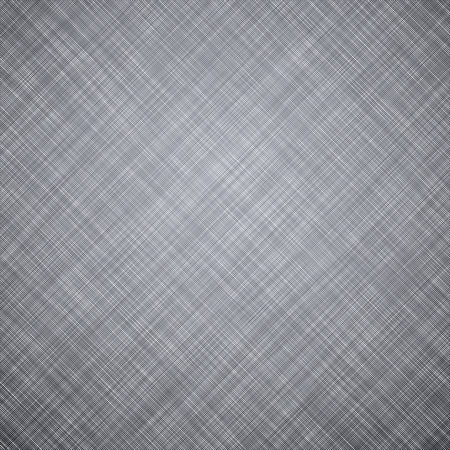 linen texture: Patr�n de la textura de lino gris realista. Vectores