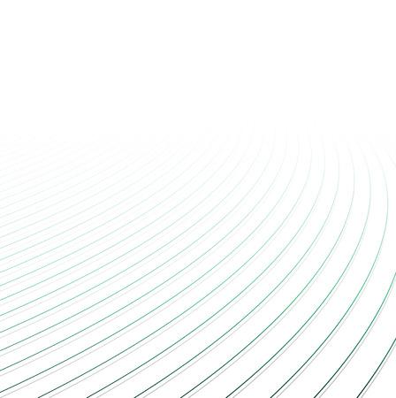 curved line: Lines perspective background. Vector illustration. Illustration